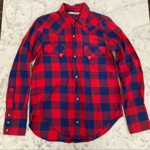 Zara flannel shirt worn once